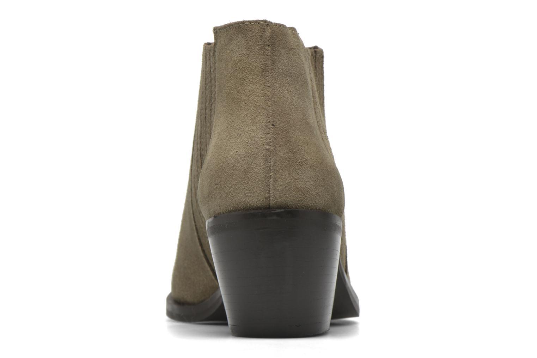 Boots en enkellaarsjes Georgia Rose Matiag Beige rechts