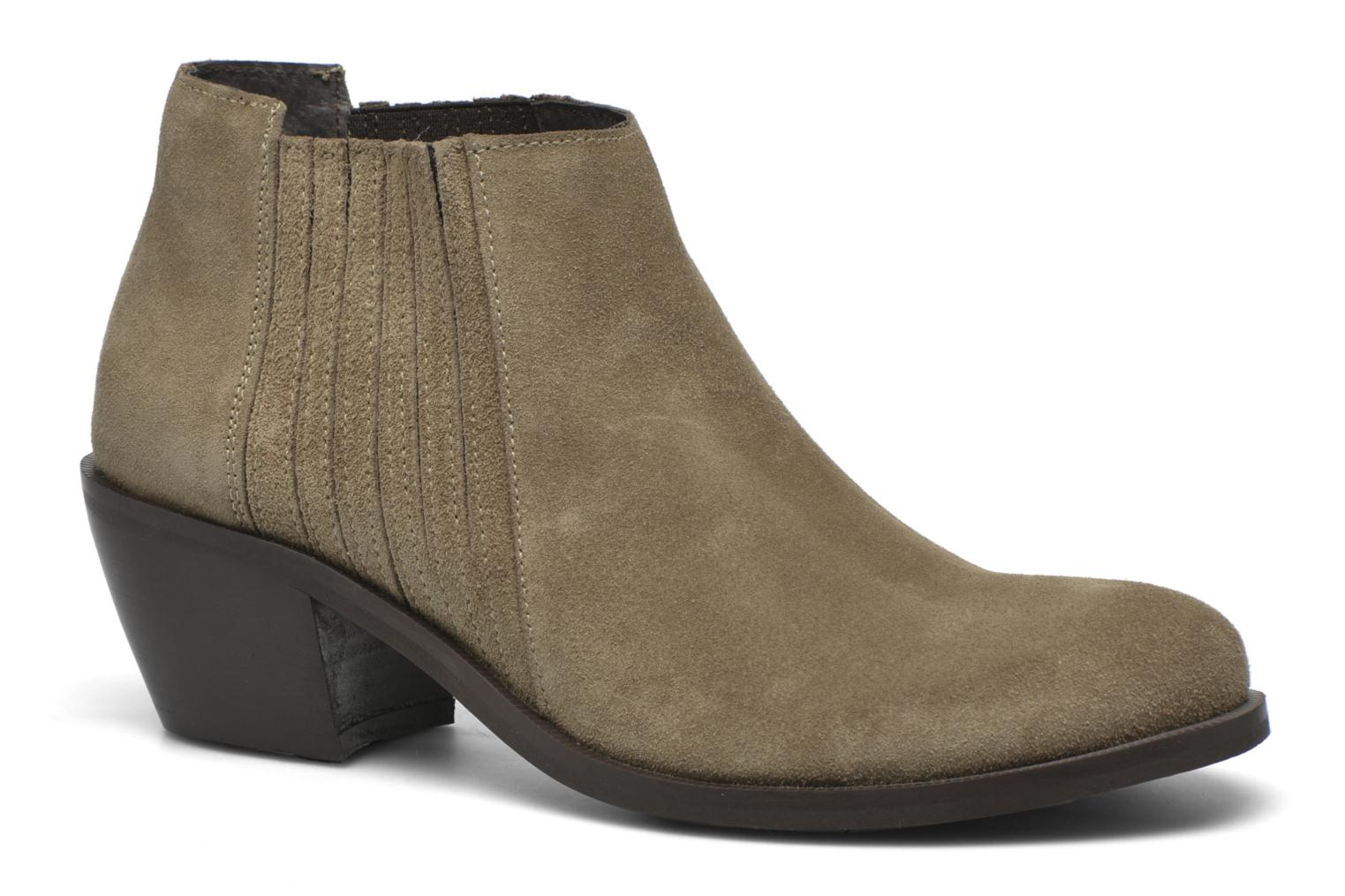 Ankle boots Georgia Rose Matiag Beige detailed view/ Pair view