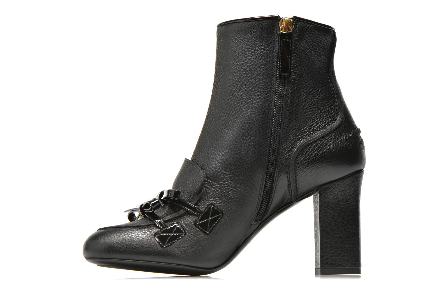 Ankle boots Boutique Moschino Bot-bot Black front view