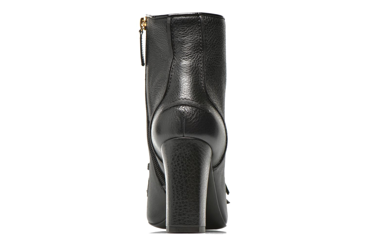 Ankle boots Boutique Moschino Bot-bot Black view from the right