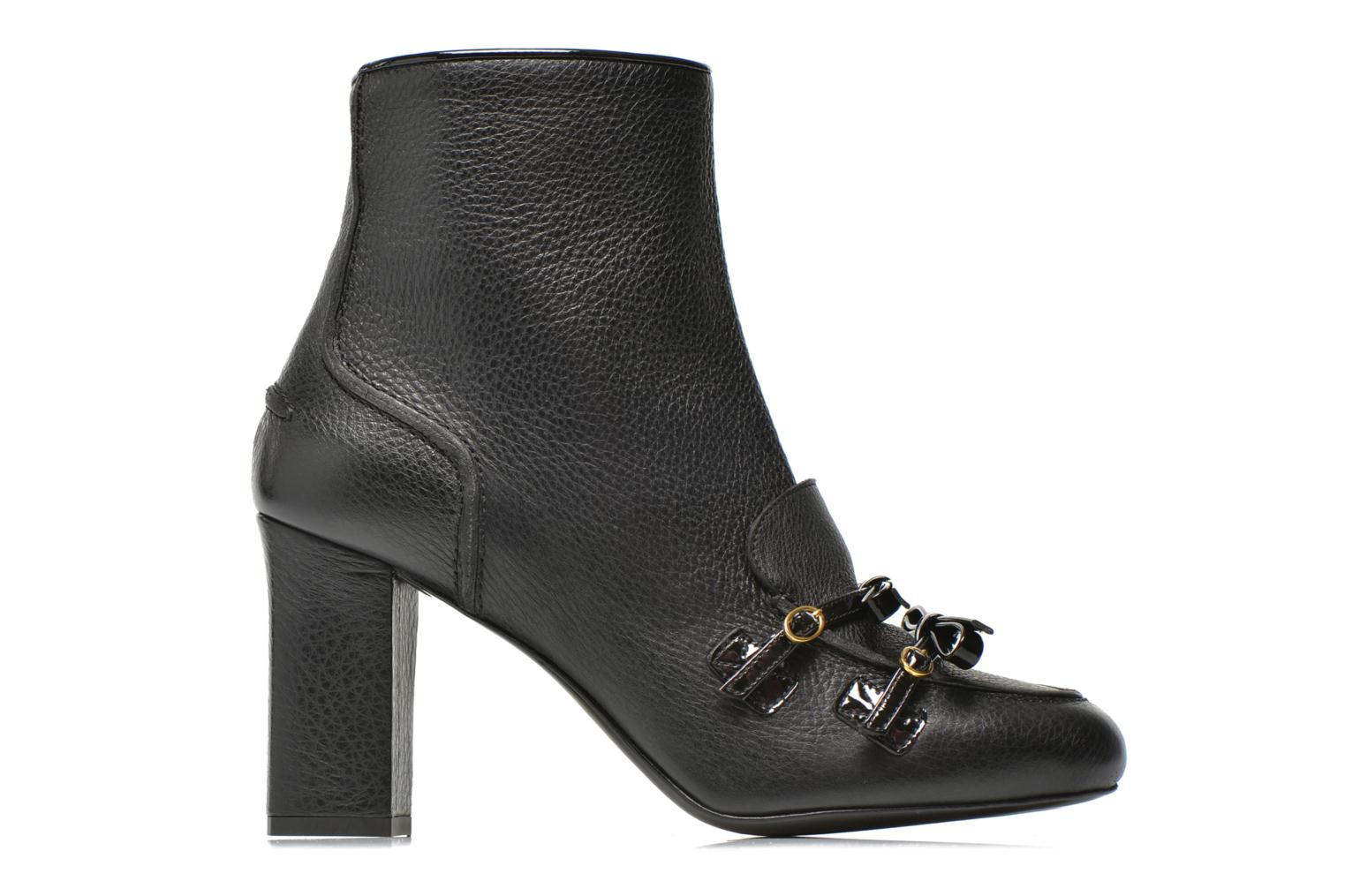 Ankle boots Boutique Moschino Bot-bot Black back view