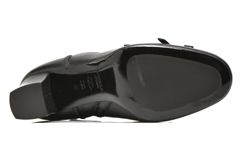 Botines  Boutique Moschino Bot-bot Negro vista de arriba