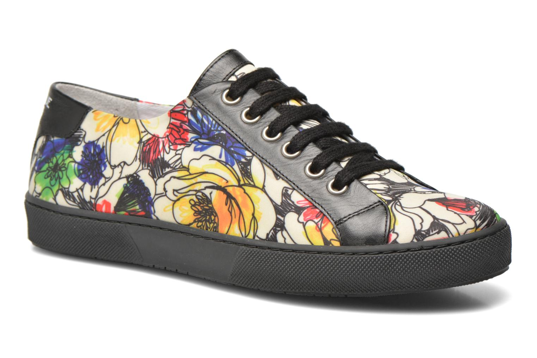 Chaussures à lacets Boutique Moschino Flower Multicolore vue détail/paire