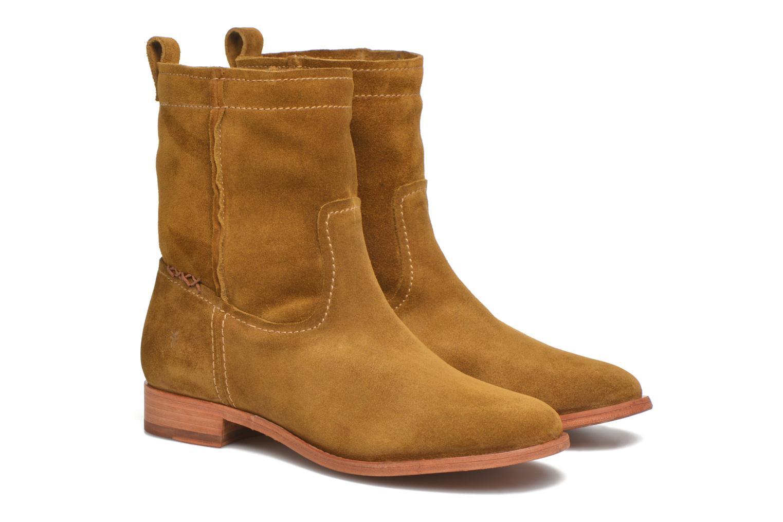 Bottines et boots Frye Cara Short Marron vue 3/4