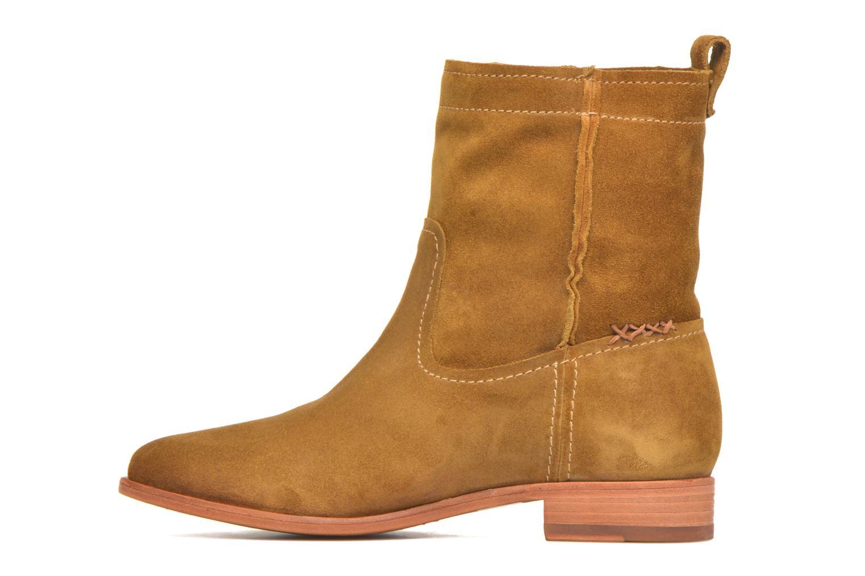 Bottines et boots Frye Cara Short Marron vue face