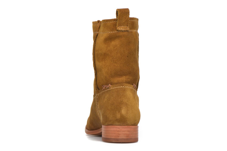 Bottines et boots Frye Cara Short Marron vue droite
