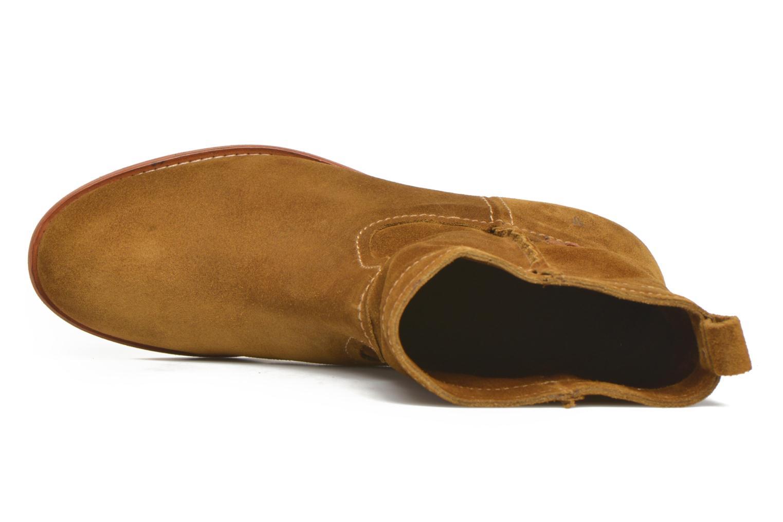Bottines et boots Frye Cara Short Marron vue gauche