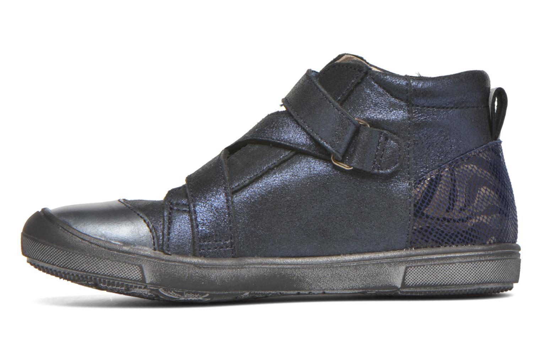 Velcro shoes Catimini Monarque Blue front view