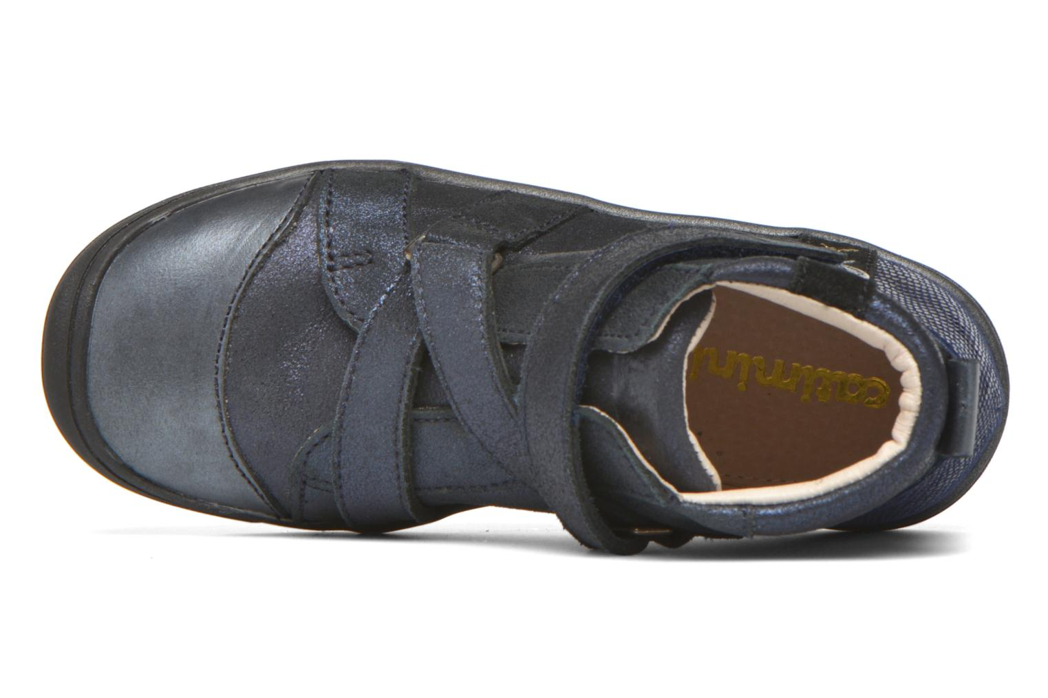 Velcro shoes Catimini Monarque Blue view from the left