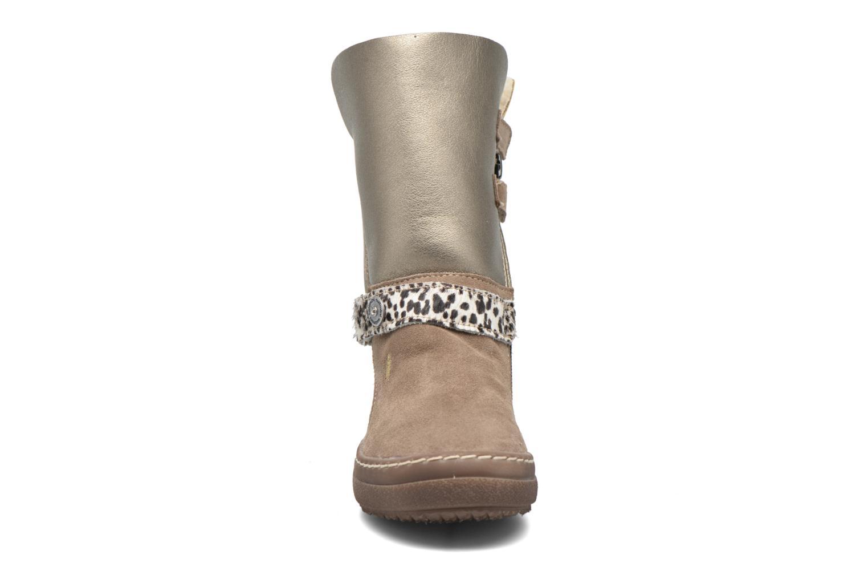 Bottes Catimini Calandre Marron vue portées chaussures