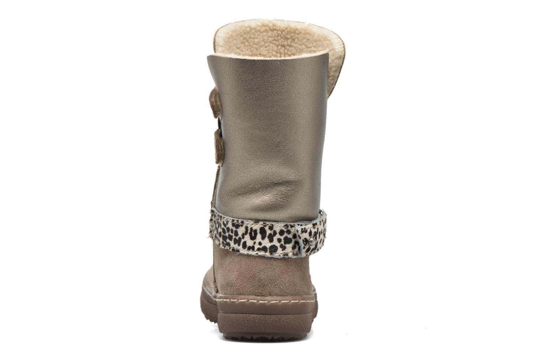 Støvler & gummistøvler Catimini Calandre Brun Se fra højre