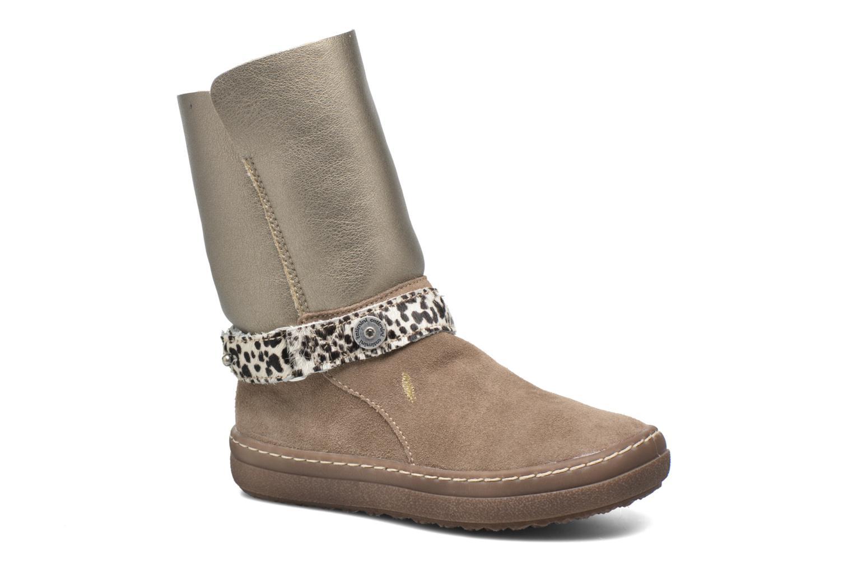 Støvler & gummistøvler Catimini Calandre Brun detaljeret billede af skoene