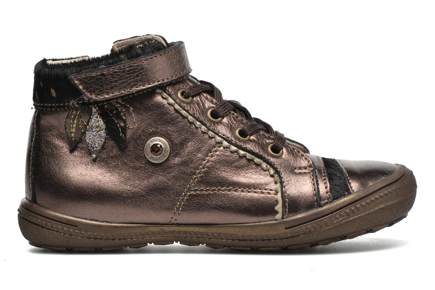 Trainers Catimini Abeille Bronze and Gold back view