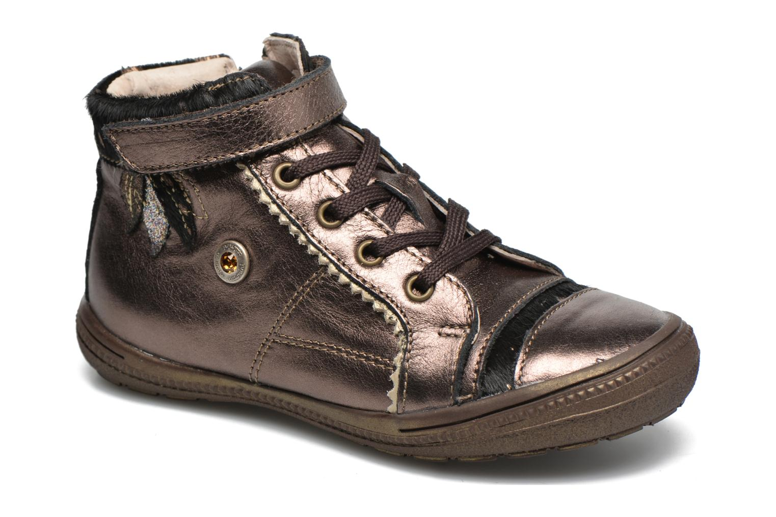 Trainers Catimini Abeille Bronze and Gold detailed view/ Pair view