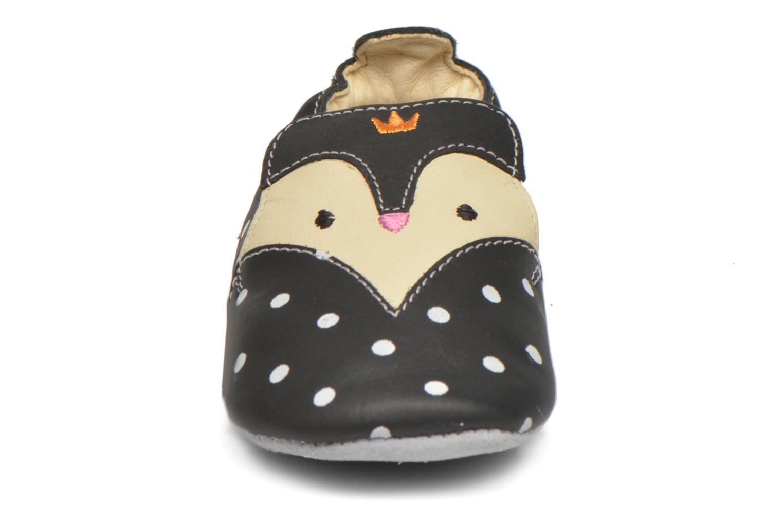 Chaussons Catimini Etourneau Noir vue portées chaussures