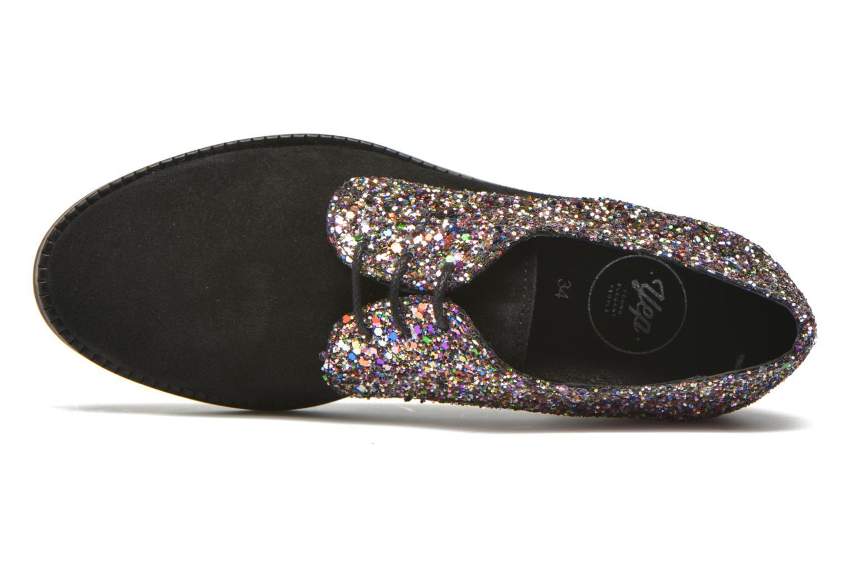 Chaussures à lacets Yep Georgine Multicolore vue gauche