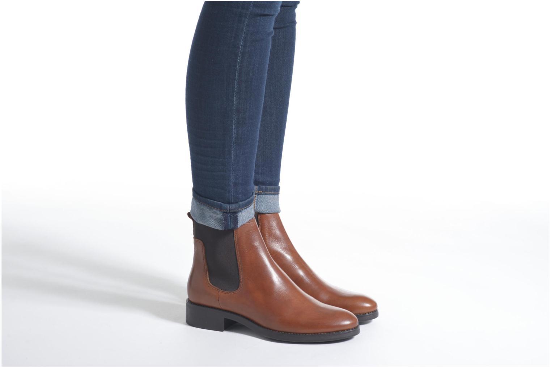 Bottines et boots Minelli Hedde Marron vue bas / vue portée sac