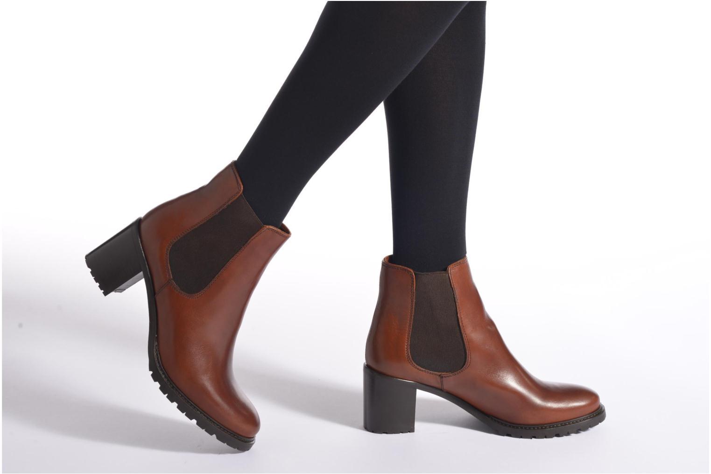 Bottines et boots Minelli Elev Noir vue bas / vue portée sac