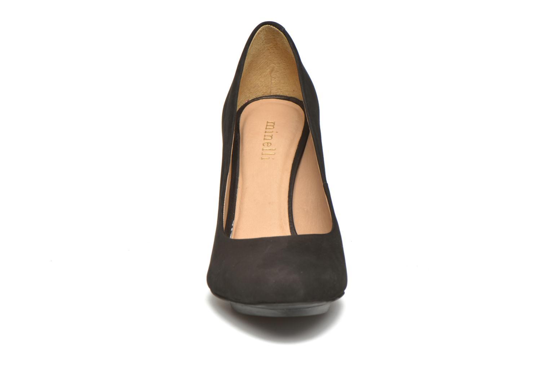 Høje hæle Minelli Uljia Sort se skoene på