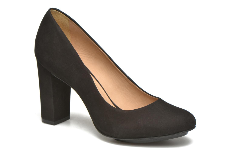 High heels Minelli Uljia Black detailed view/ Pair view