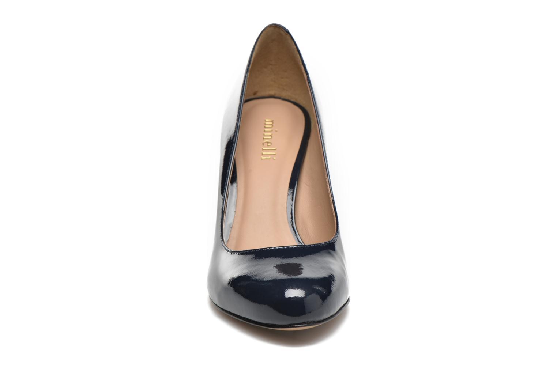 Escarpins Minelli Ebeau Bleu vue portées chaussures