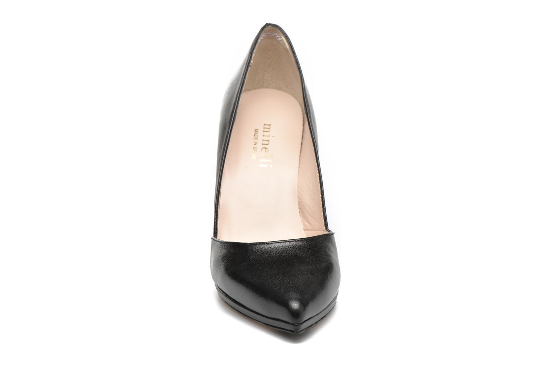 Escarpins Minelli Tissine Noir vue portées chaussures