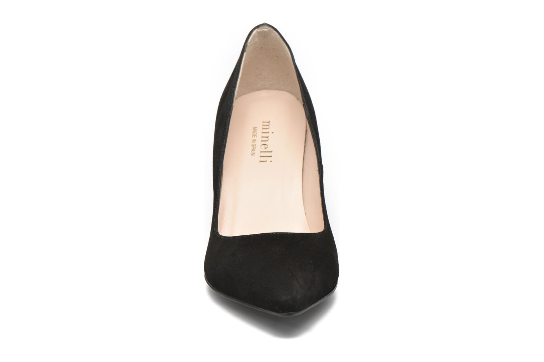 Escarpins Minelli Galba Noir vue portées chaussures