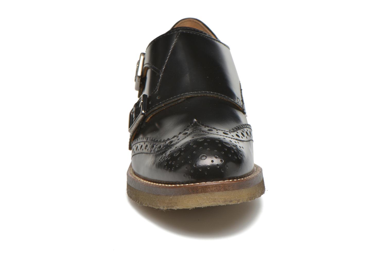 Slipper Minelli Baxe schwarz schuhe getragen