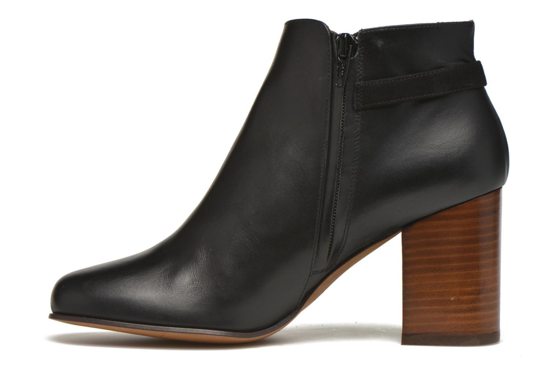Boots en enkellaarsjes Minelli Gezial Zwart voorkant
