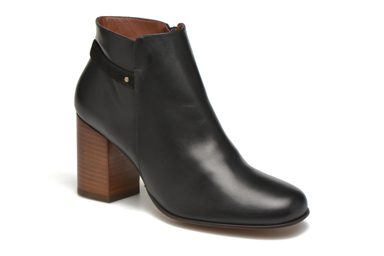 Boots en enkellaarsjes Minelli Gezial Zwart detail
