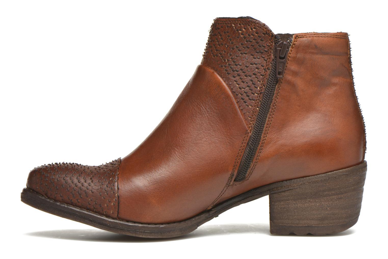 Bottines et boots Khrio Sorolono Marron vue face