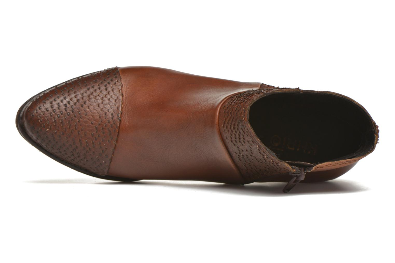 Bottines et boots Khrio Sorolono Marron vue gauche