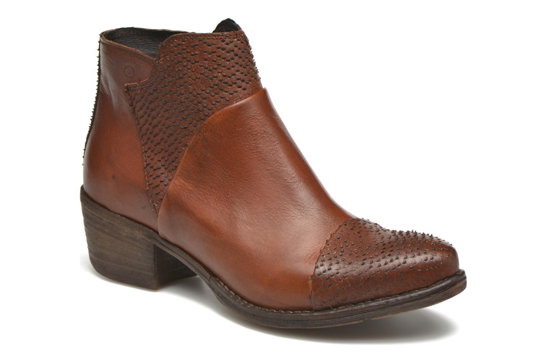 Bottines et boots Khrio Sorolono Marron vue détail/paire
