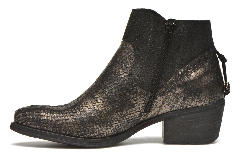 Bottines et boots Khrio Tortora Or et bronze vue face