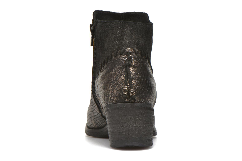 Bottines et boots Khrio Tortora Or et bronze vue droite