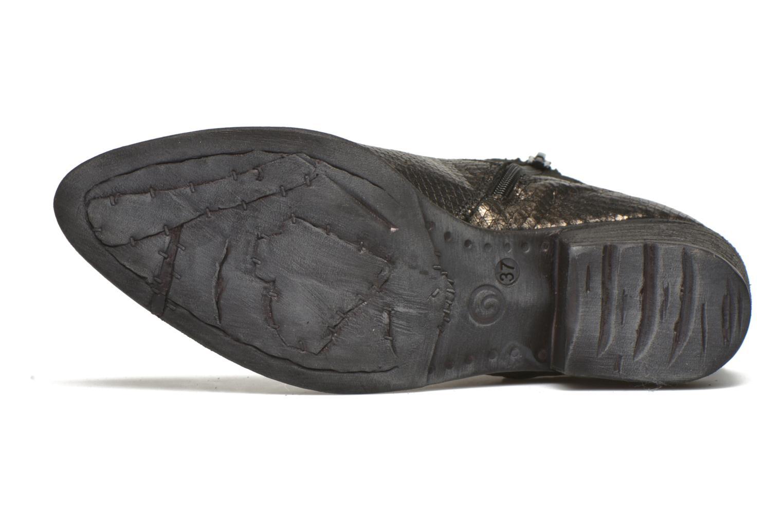 Bottines et boots Khrio Tortora Or et bronze vue haut