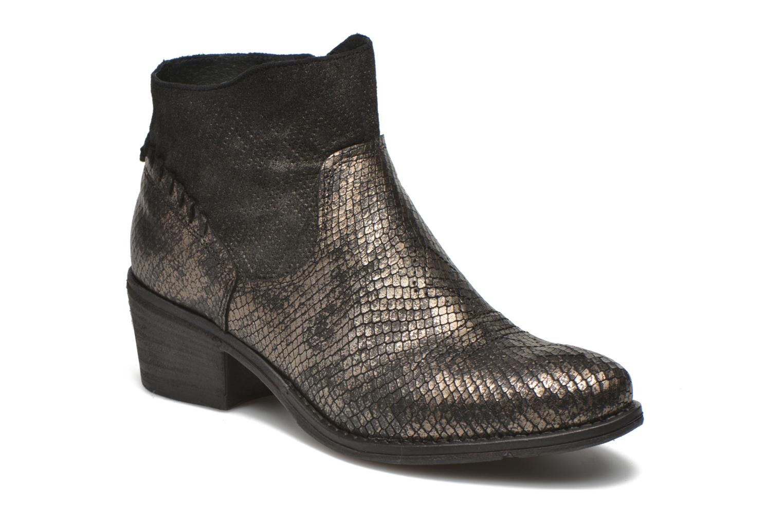 Bottines et boots Khrio Tortora Or et bronze vue détail/paire
