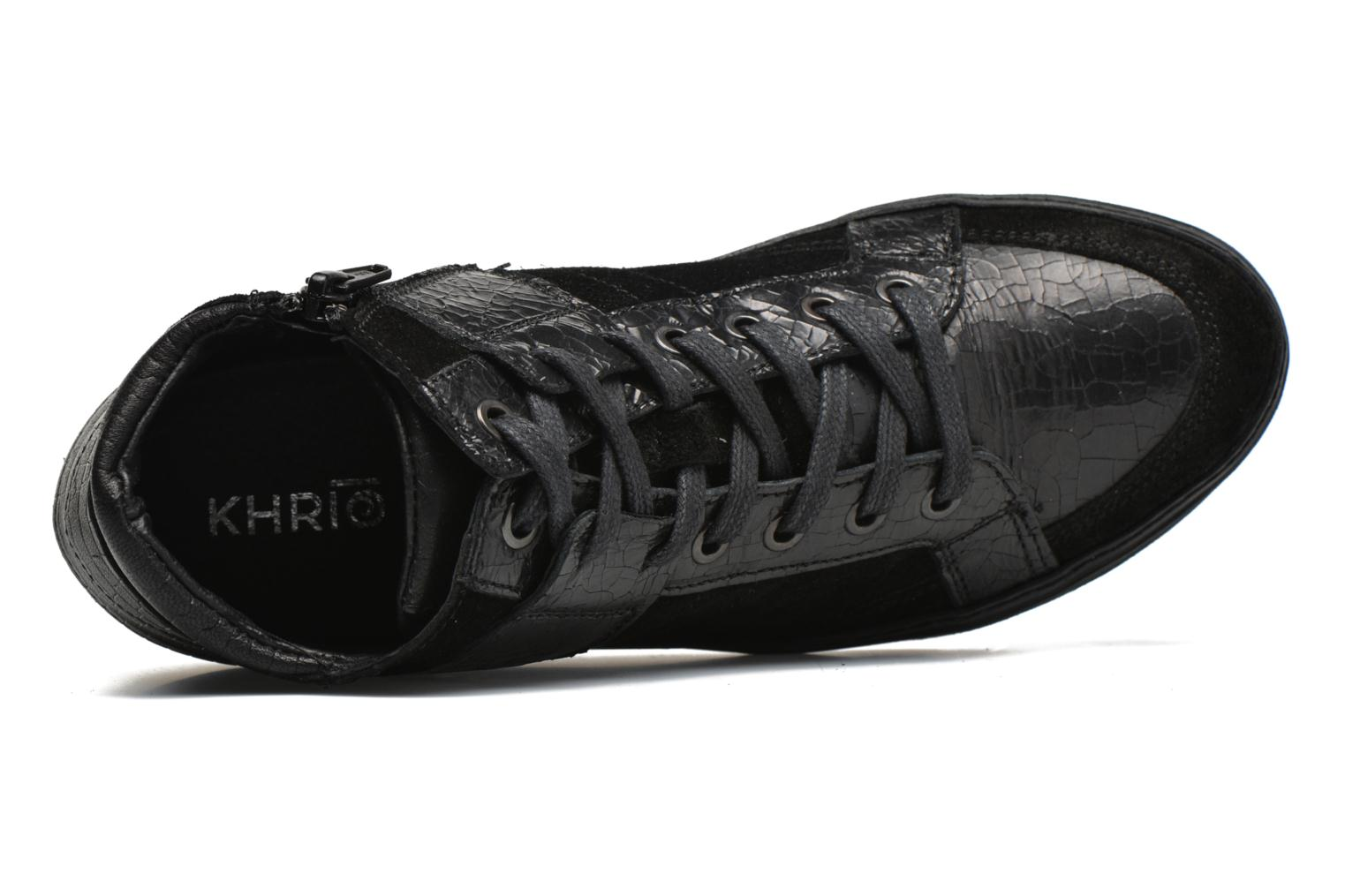Trainers Khrio Broma Black view from the left