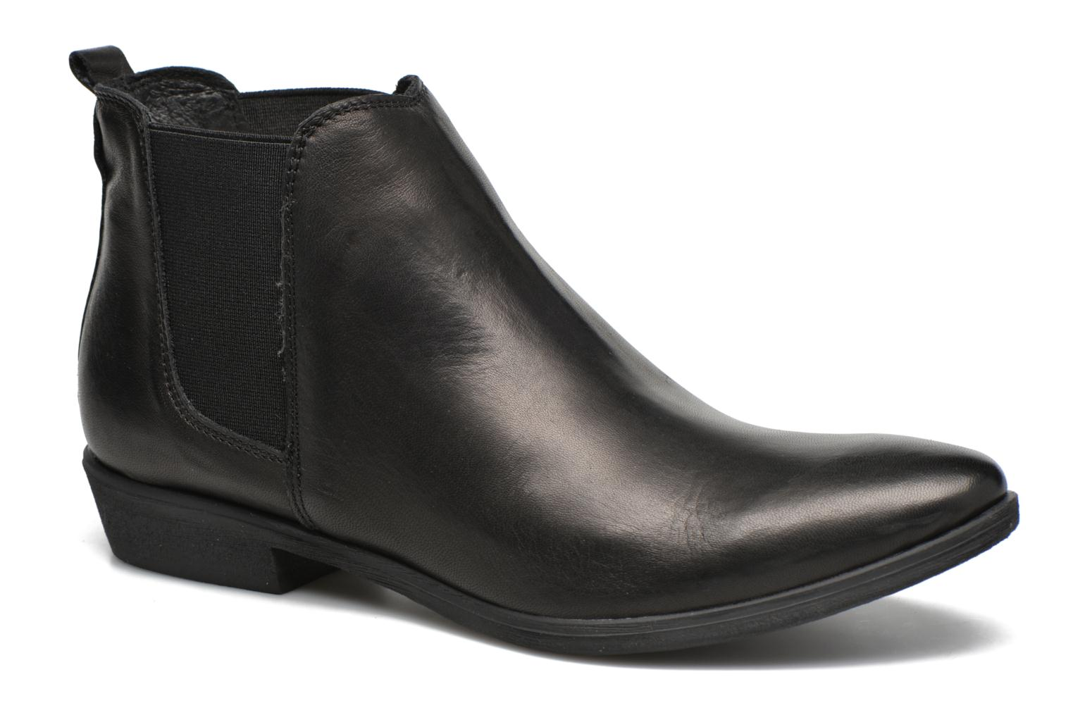 Ankle boots Khrio Caliona Black detailed view/ Pair view