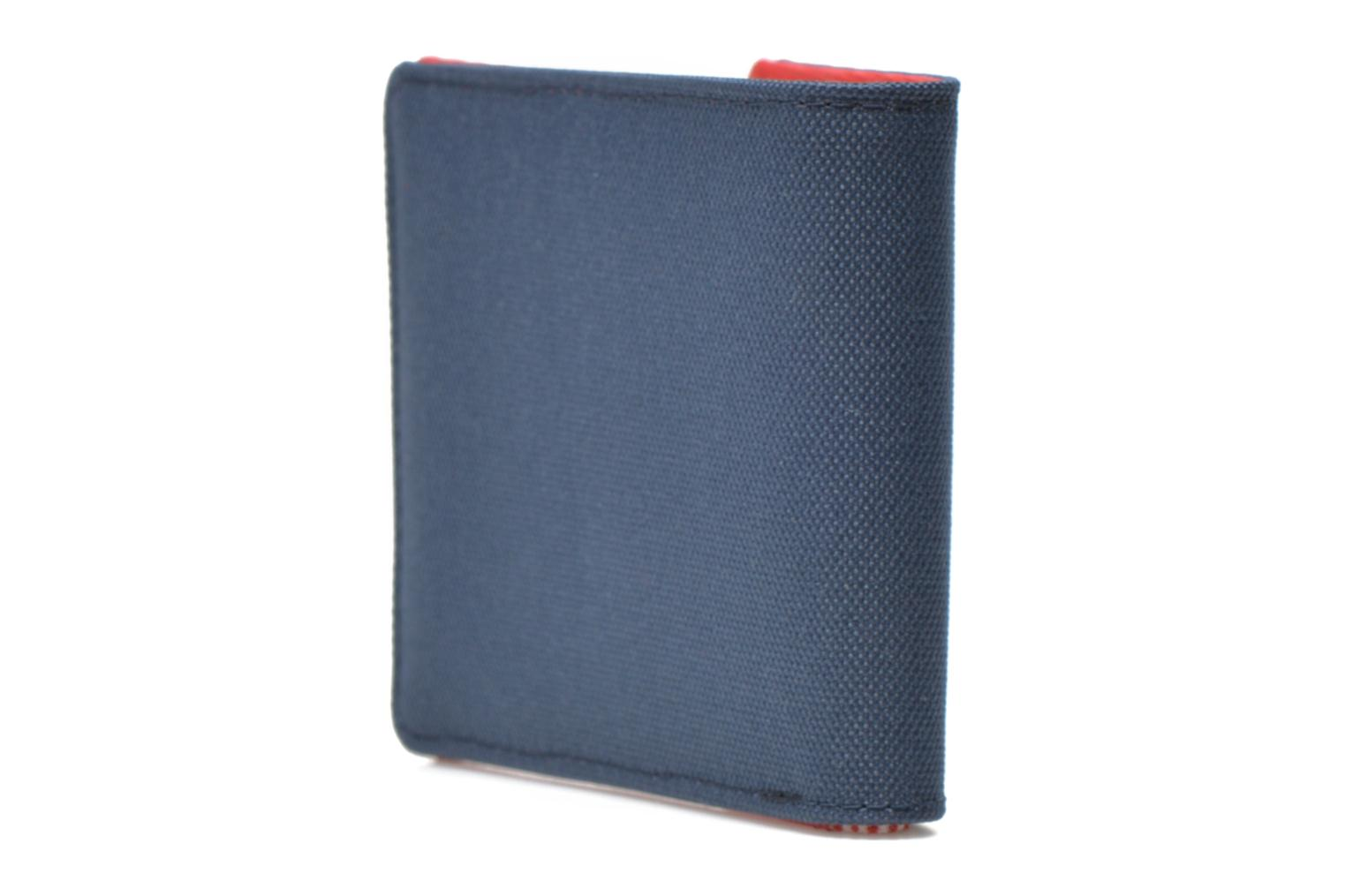 Wallets & cases Herschel ROY COIN Portefeuille Blue view from the right