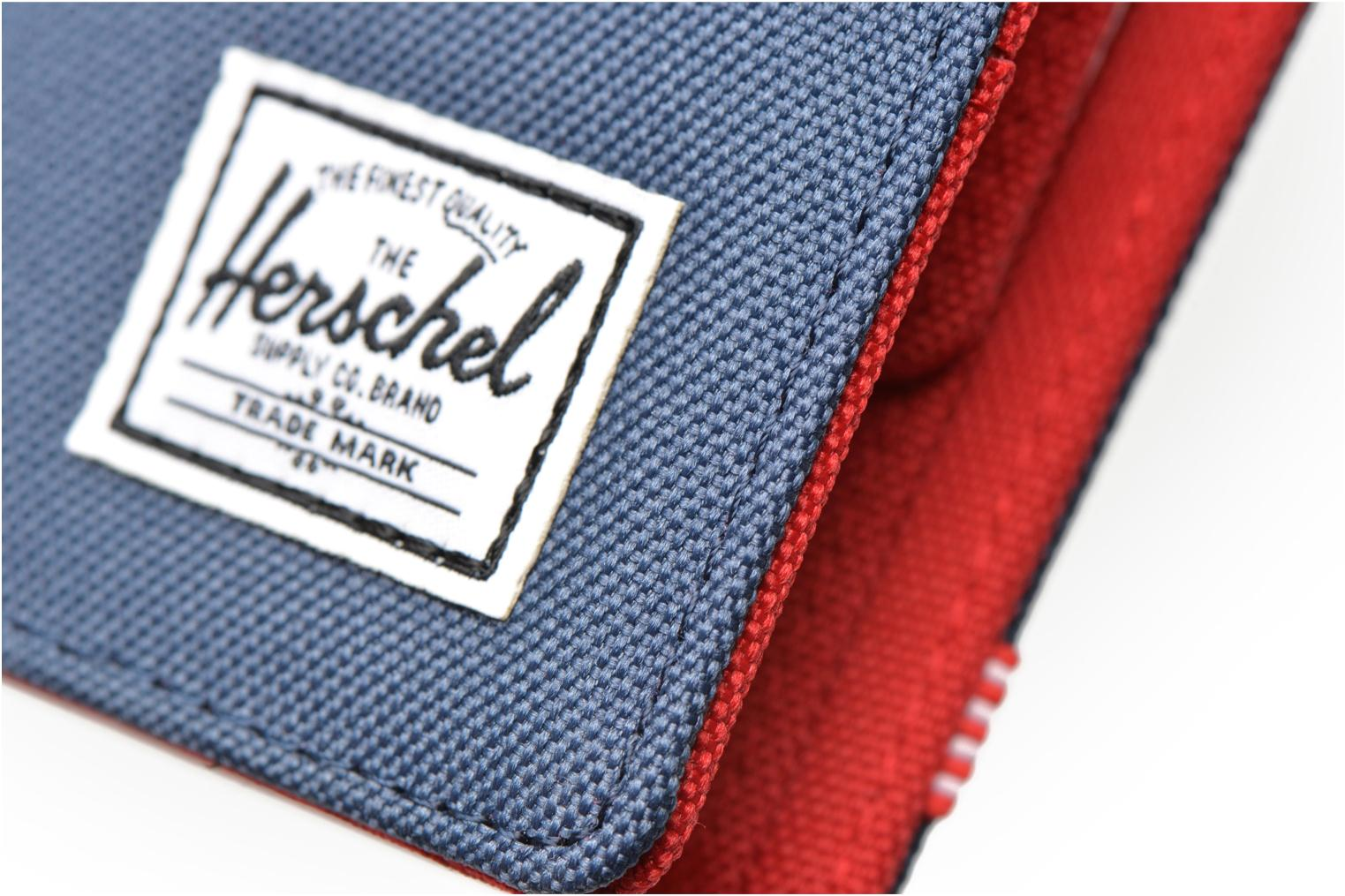 Wallets & cases Herschel ROY COIN Portefeuille Blue view from the left