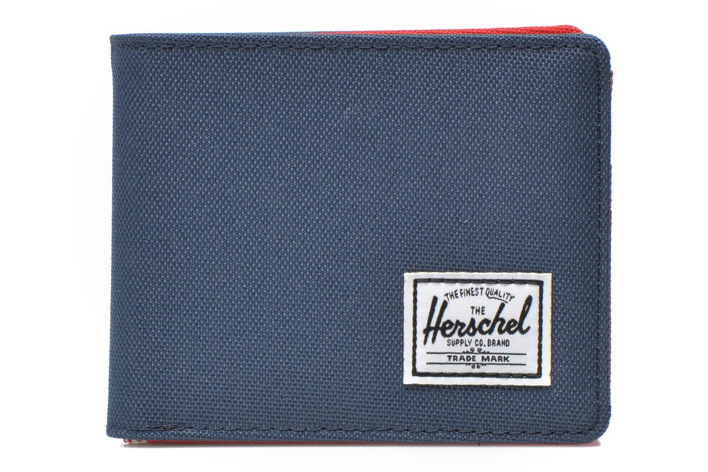 Kleine lederwaren Herschel ROY COIN Portefeuille Blauw detail