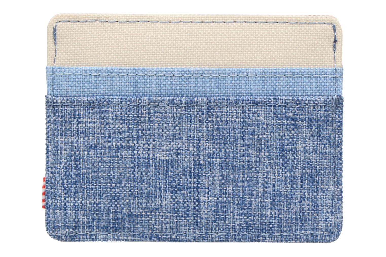 Petite Maroquinerie Herschel CHARLIE Porte-cartes Bleu vue face