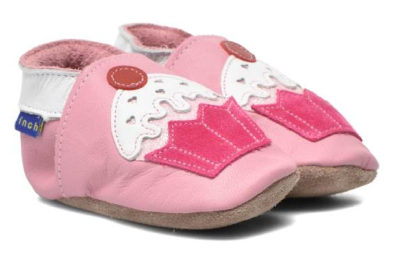 Chaussons Inch Blue Little Cupcake Rose vue 3/4