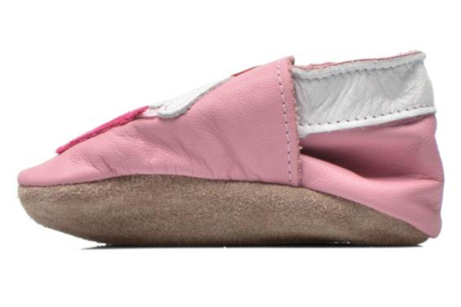 Chaussons Inch Blue Little Cupcake Rose vue face