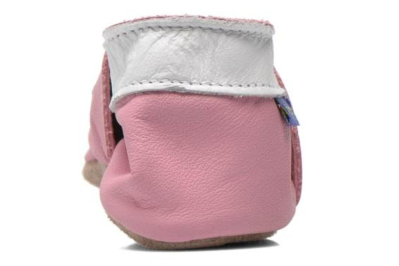 Hausschuhe Inch Blue Little Cupcake rosa ansicht von rechts