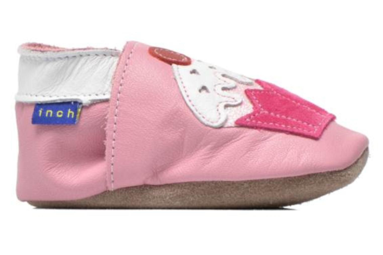 Hausschuhe Inch Blue Little Cupcake rosa ansicht von hinten