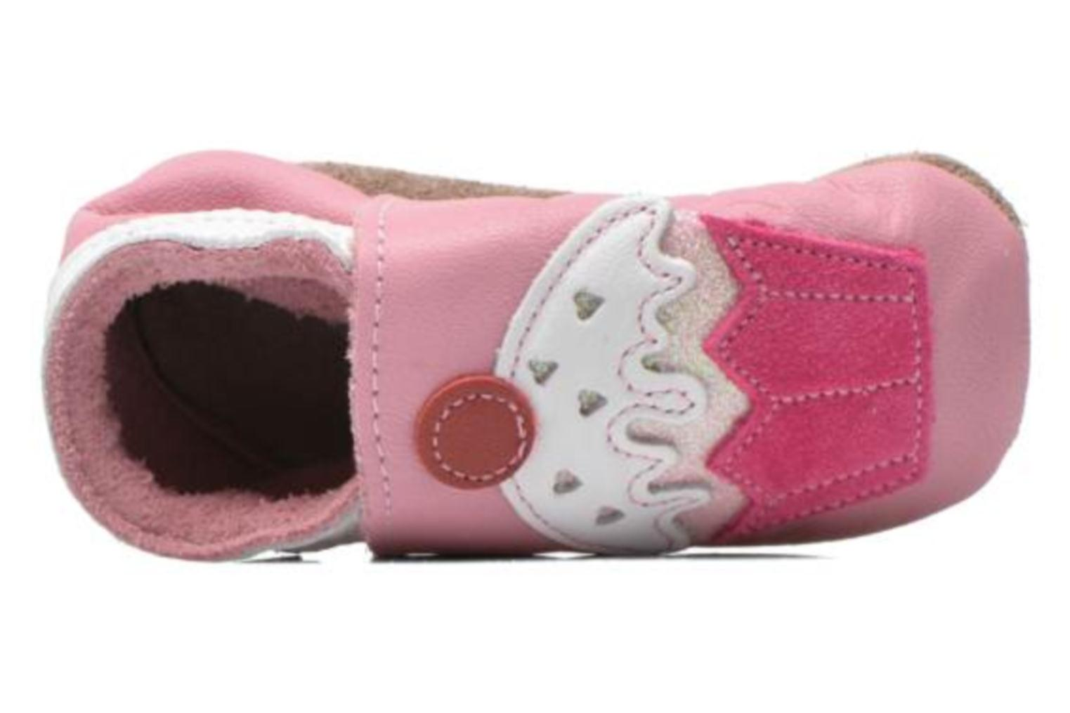 Pantofole Inch Blue Little Cupcake Rosa immagine sinistra