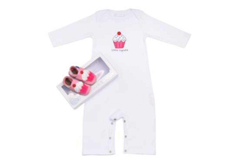 Hausschuhe Inch Blue Little Cupcake rosa detaillierte ansicht/modell
