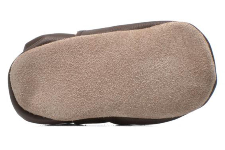 Pantoffels Inch Blue Mr Fox Bruin boven
